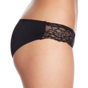 NWT Free People Black Lace Undies